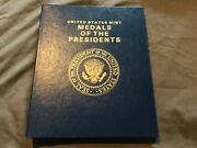 United States Mint Medals Of The Presidents 40 Coin Set - Washington - Reagan