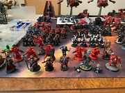 Blood Angel Army Massive With Bags Books Dice And Tokens Warhammer 40k New40k