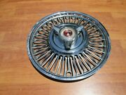 1963 1964 1965 Ford Falcon Sprint Fairlane Mustang 13 Spinner Hubcap Oem