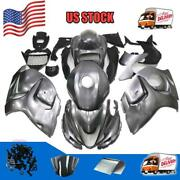 Gl Injection Grey Tank Cover Fairing Kit Fit For Suzuki 2008-15 Gsxr1300 A068