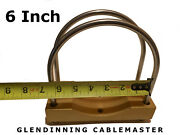 1 - Glendinning Gmp Cablemaster Hawse 6 Od Pipe Clamp Assembly Pvc Cpvc Abs