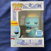 Funko Pop Ad Icons General Mills Boo Berry W/ Bowl 35 Shop Exclusive