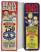 Brain Quest 1st Grade Qanda Cards 750 Questions Answers And Toll House Edition
