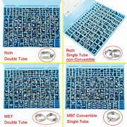 Orthodontic Buccal Roth/mbt 1st Molar Band Convertible Single/double Tubes 4type