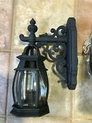 Minka Lavery 9030-66 Outdoor Wall Mount 2-lights Outdoor, Black, Discontinued