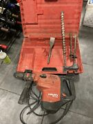Hilti Te 70-atc Rotary Chipping Hammer Drill With Hard Case With Bits