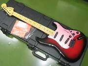 Fender Japan Exclusive Ken Stratocaster Galaxy Red With Hard Case
