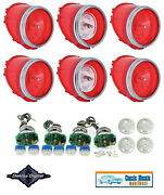 1965 Impala Led Tail Light Conversion And Lens Kit With Back Up Lens Set And Trim
