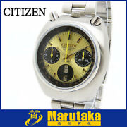 Citizen Horns Chronograph Challenge Timer Mickey Automatic Winding 8110a 1971
