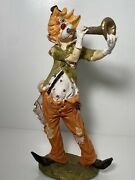 Duncan Royale Capodimonte Italy Clown Playing Horn 11
