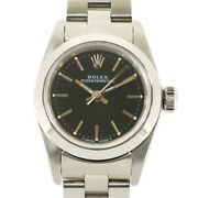 Rolex Watches 67180 Stainless Steel U Number 1997 Model Oyster Perpetual Used