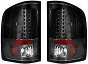 Recon Truck Accessories 264175bk 264175bk Smoked Led Tail Lights