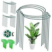 20 Pack Plant Support Stake Metal Garden Plant Stake With Planting Label And