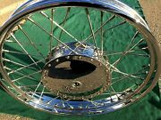 Harley Sportster 21 Front Wheel 1964-1972 Chrome And Polished Stainless