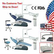 Dental Unit Chair Hard Leather Computer Controlled Fda Ce Approved/handpiece Kit