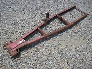 Wheel Horse Garden Tractor Snow Plow Frame Only Fits Bc Series 300 400