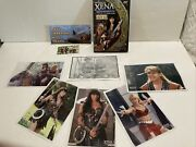 The Official Xena Warrior Princess Fan Club Kit 12 Dvd + Extras