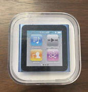 Apple Ipod Nano 8gb Light Blue 6th Generation New And Factory Sealed Model A1366