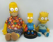 The Simpsons Bart Simpson Clock And Window Doll Homer Simpson Doll Sk Drmp