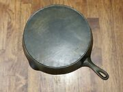 Vintage 12 Wagner Ware Sidney - O - Cast Iron Skillet With Heat Ring - 1062