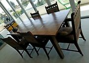 Eastlake Antique Dining Chairs Wood Walnut 1880 Wooden 6 Set Rare Ec Victorian
