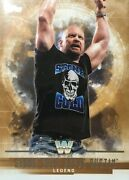 Stone Cold Steve Austin Bronze Parallel /99 Topps Wwe 2017 Undisputed Free Shipp