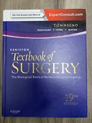 Sabiston Textbook Of Surgery The Basis Of Modern Surgical Practice 19th Ed.