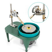 6'' Gem Faceting Machine Rock Stone Grinder Jewelry Lapidary Cutter Polisher Us