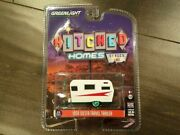 Greenlight 1/64 Hitched Homes 1959 Siesta Travel Trailer 34010-b Chase Car