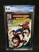 Amazing Spiderman 361 Cgc 9.4 White Pages First Appp Carnage
