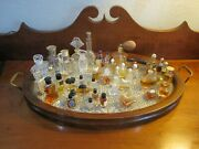 Perfume And Cologne Bottle Collection lot Of 50