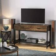 Tribesigns Sofa Console Table W/ 2 Drawers Rectangle 47 Tv Stand Hall Table