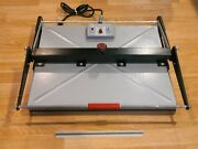 Vintage 550 Large 18 X 22 Plate Dry Mount Press / Heat Transfer Made In Usa
