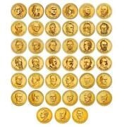 Complete Presidential Dollar 40 Coin Set Brilliant Uncirculated Us