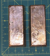 12 Pounds Of Hand Poured Copper Bars From Scrap Copper Wire And Pipes