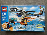 Lego City Coast Guard Helicopter And Life Raft Set 7738 New In Sealed Box