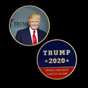 Us President Challenge Coin 403 Mm Donald Trump Coins For Christmas Gift