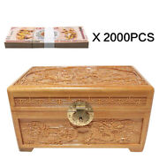 2000pcs One Hundred Quintillion Chinese Dragon Note Un-currency With Wooden Box