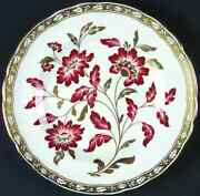 Royal Crown Derby Derby Panel Red Accent Salad Plate 1291691