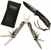 Defiance Sportsmen's Knife And Camo Multi-tool / New Sealed / Free Shipping