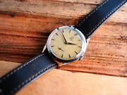 Vintage Omega 2605-11 Spider Lugs Menand039s Wrist Watch