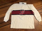 Vintage Polo Pwing Og Stadium 92 93 Sz L Rare Red P Wing Not Blue