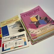 Lot Of 29 Piano Lesson Books For Beginners And More