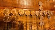 1844-s Wheat Penny Lot Of 17, Out Of Old Bank Roll, All Red Gems 1944 To 1958