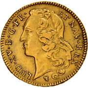 [908466] Coin France Louis Xv 2 Louis Dand039or 1751 Limoges Gold