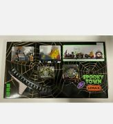 Lemax Spooky Town 2019 Crazy Clown Express 94486 Train Sights And Sounds New