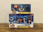 Sonic The Hedgehog 30th Anniversary 4andrdquo Multi-pack And Studiopolis Zone Playset