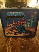 Vintage 1983 Masters Of The Universe Lunchbox With Thermos