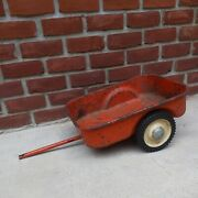 Pedal Tractor Cart Trailer Wagon Ertl Allis Chalmers For A 190