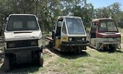 1992/1982/1984 Cushman Truckster Lot With Parts
